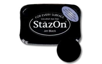 """Rašalas """"StazOn Jet Black"""""""