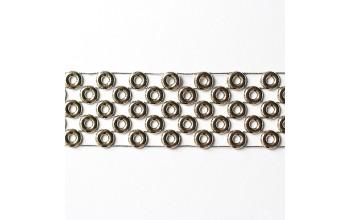 "Juostelė ""Gold Rings"", 30cm"