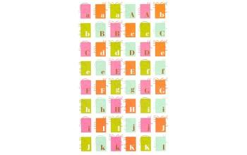"Lipdukai ""Stamp Stickers Alphabet"""