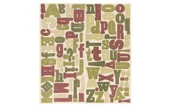 "Lipdukai ant audinio ""Falala Alphabet"", 95vnt."