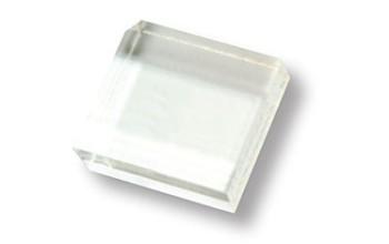 Akrilinis pagrindas antspaudukams tvirtinti, 4x4cm