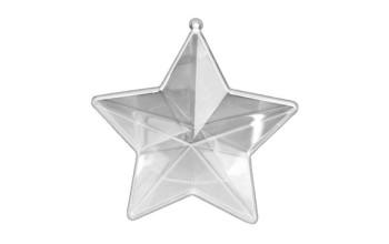 """Plastikinis žaisliukas """"Plastic Star Shape"""", 10cm"""