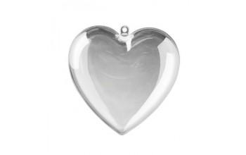 """Plastikinis žaisliukas """"Plastic Heart"""", 8cm"""