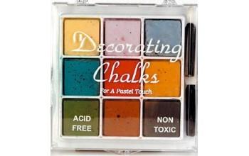 "Kreidiniai dažai ""Clear Chalk Colours Kit-3"""