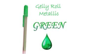 """Gelinis metalizuotas rašiklis """"Žalias / Green Metallic"""""""