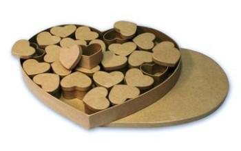 """Kartoninė dėžutė """"Heart mini"""""""