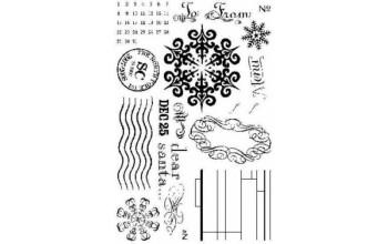 """Akriliniai antspaudukai """"north pole"""""""