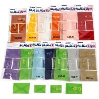 """Kalkinio popieriaus vokai """"Vellum mini envelopes"""", įvairių spalvų"""