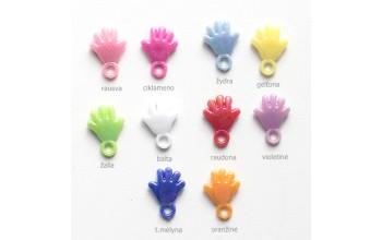 """Plastikinis pakabukas """"Rankytė"""", 1vnt. įvairių spalvų"""