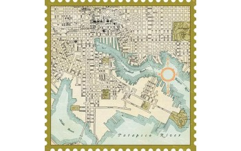 "Popierius ""Making Memories: Great Escape - DieCut Map"""