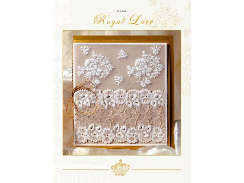 """Pergamano knyga """"Royal Lace"""". Julie Roces"""