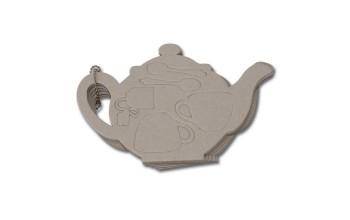 """Kartoninių formelių albumas """"Tea Pot"""", 8 lapai"""