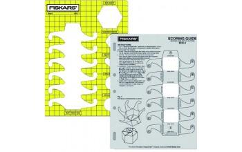 "Plastikinis trafaretas ""Hexagonal Box"", 21x28cm, 1vnt."