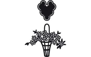 """Kirtimo ir reljefo formelė """"Craftables flower man/label"""""""
