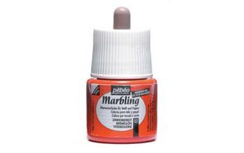 """Marmuravimo dažai """"Pebeo Marbling: Vermillion"""", 45ml"""
