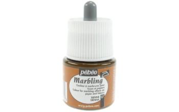 """Marmuravimo dažai """"Pebeo Marbling: Sienna"""", 45ml"""
