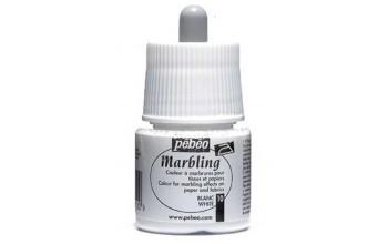 """Marmuravimo dažai """"Pebeo Marbling: White"""", 45ml"""