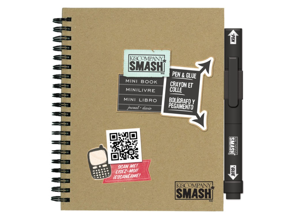 """Dienoraštis albumas """"Smash Mini folio book"""""""