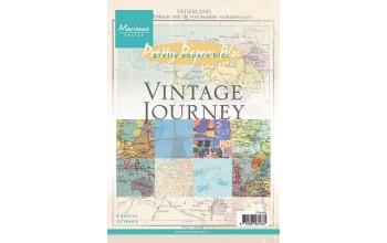 """Popieriaus rinkinys """"Vintage Journey"""", 32 lapai"""