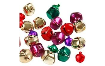 """Metalinių varpelių rinkinys """"Jingle Bell Assorti"""", 16vnt."""