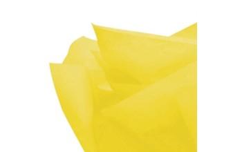 "Tissue šilko popierius ""Geltona / Yellow"", 25vnt."