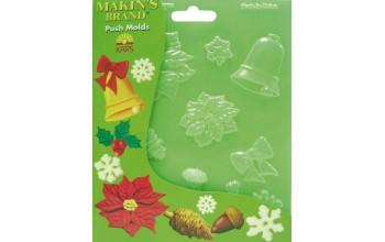 """Plastikinė formelė """"Christmas nature"""""""