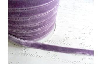 """Aksominė juostelė """"Pale violet"""", 1m"""