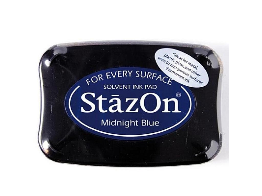"""Rašalas """"StazOn Midnight Blue"""""""