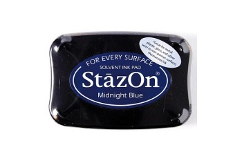 "Rašalas ""StazOn Midnight Blue"""