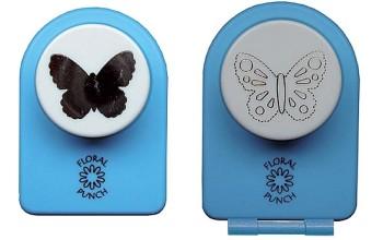"Dek. skylamušis su reljefu ""Medium Butterfly"", 2vnt."