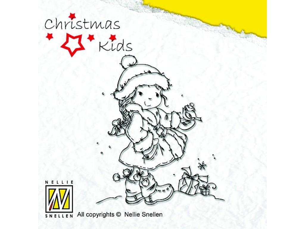 """Akriliniai antspaudukai """"Christmas Birdie"""""""