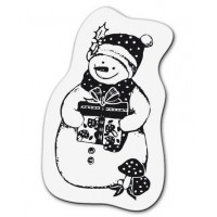"Akriliniai antspaudukai ""Small Snowman"""