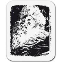 "Akriliniai antspaudukai ""Santa Claus portrait"""
