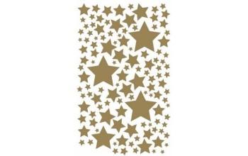 """Nutrinami lipdukai """"Stars Gold"""""""