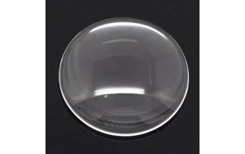 Skaidraus stiklo kabošonas, 10mm