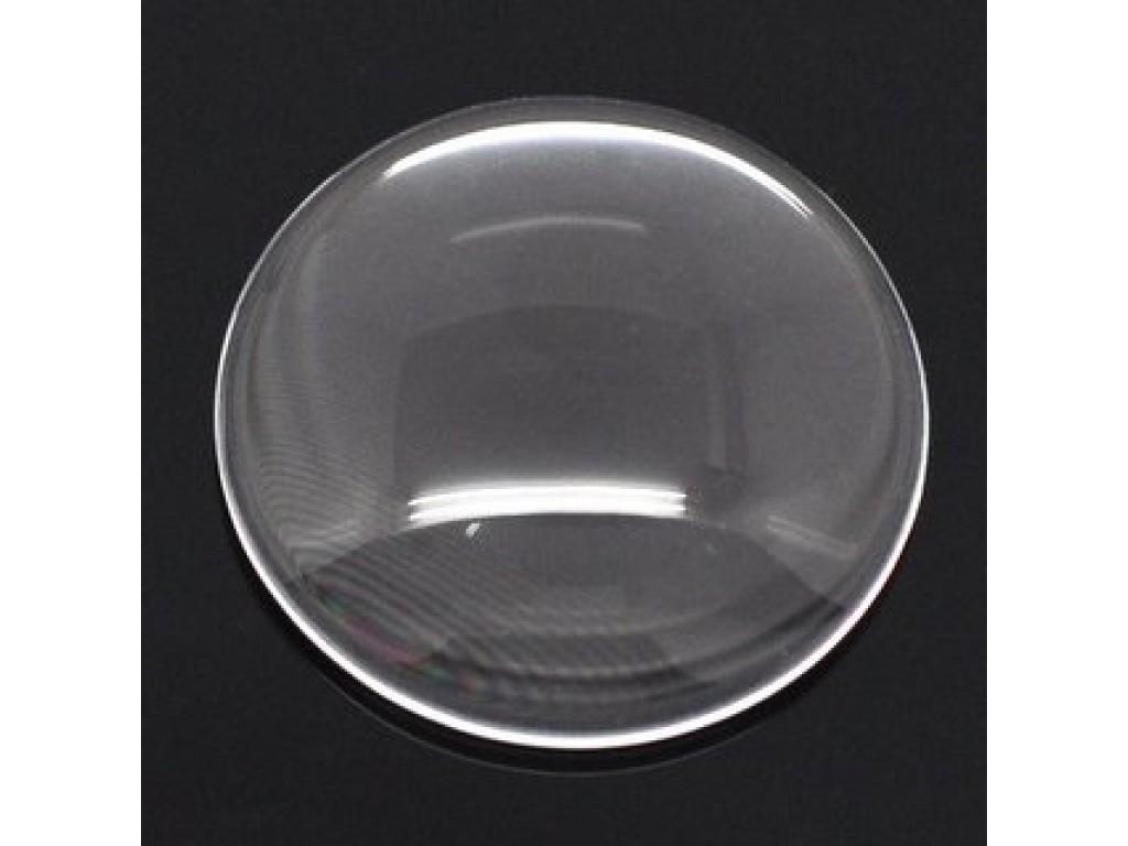 Skaidraus stiklo kabošonas, 16mm