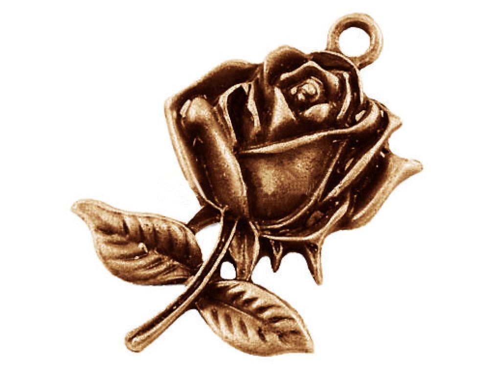 """Metalinis pakabukas """"Antikinio vario rožė"""", 1vnt."""