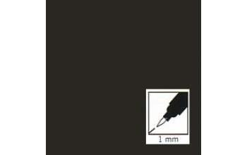 "Juodas rašiklis porceliano/stiklo dekoravimui ""Black"" , 1mm"