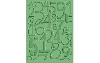 "Reljefo formelė ""Number Collage"""