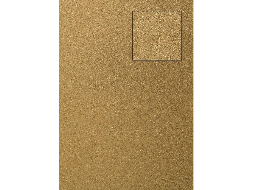 "A4 kartonas su blizgesiu ""Glitter gold"""