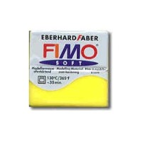 "FIMO Soft Nr.104 ""Transparent Yellow"""