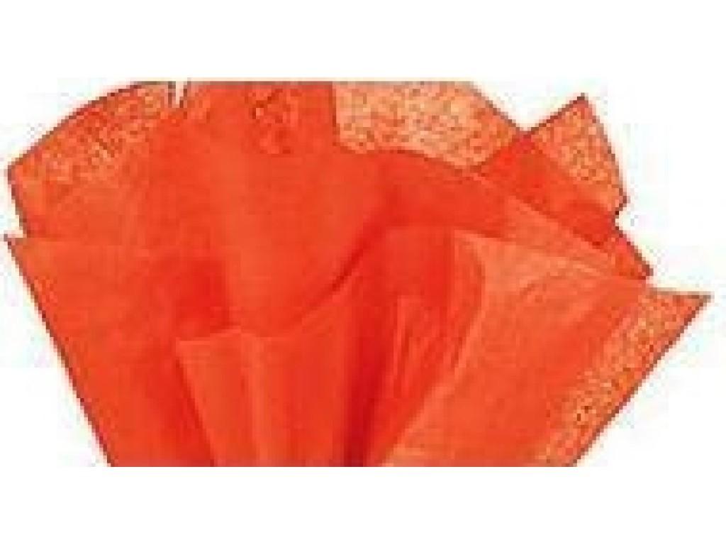 """Tissue šilko popierius """"Oranžinė"""", 25vnt."""