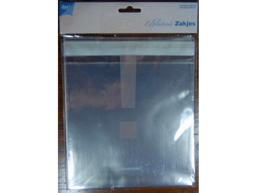 Pakavimo maišeliai, 17x17cm(20,5cm), 30vnt.