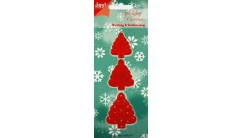 """Kirtimo ir reljefo formelė """"Christmas trees"""""""