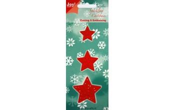 """Kirtimo ir reljefo formelė """"Christmas stars"""""""