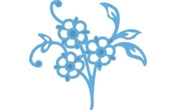 """Kirtimo ir reljefo formelė """"Creatables Tiny Flowers 4"""""""