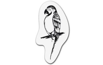 """Akriliniai antspaudukai """"Small parrot"""""""