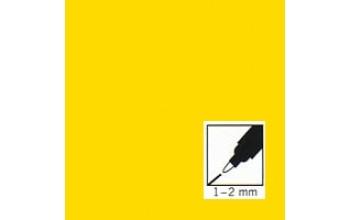 """Geltonas rašiklis porceliano/stiklo dekoravimui """"Yellow"""", 1-2mm"""