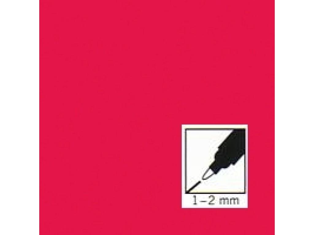 """Raudonas rašiklis porceliano/stiklo dekoravimui """"Red"""", 1-2mm"""