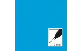 "Žydras rašiklis porceliano/stiklo dekoravimui ""Light Blue"", 1-2mm"